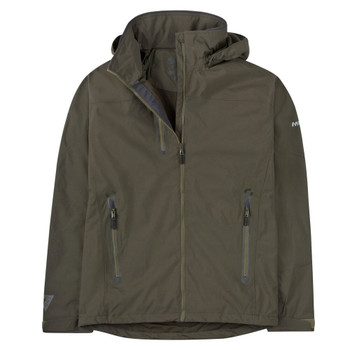 Musto Sardinia BR1 Jacket - Men - Dark Moss/Cinder - Front View