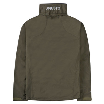 Musto Sardinia BR1 Jacket - Men - Dark Moss/Cinder - Back View
