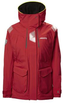 Musto BR2 Offshore Jacket Women- True Red