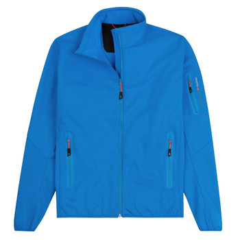 Musto Crew Softshell Jacket - Women - Brilliant Blue - Front View