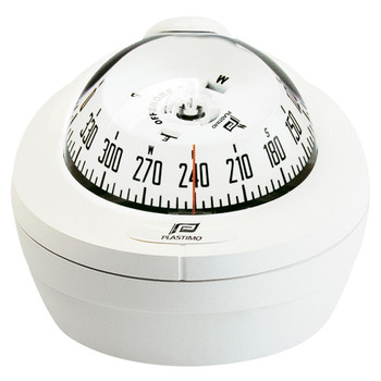 Plastimo Offshore 75 Compass - Mini-Binnacle - White