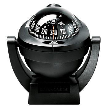 Plastimo Offshore 75 Compass - Bracket - Black