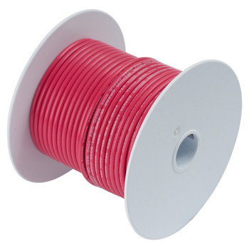 Ancor Tinned Copper Wire - 18 AWG (0.8mm²) - 35ft - Red