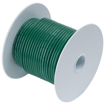 Ancor Tinned Copper Wire - 14 AWG (2mm²) - 18ft - Green