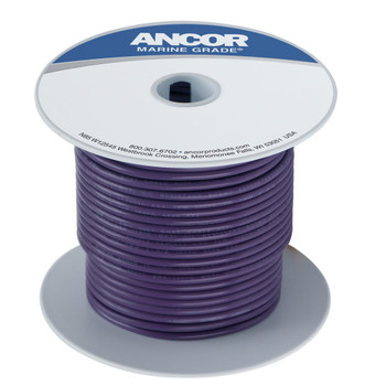 Ancor Tinned Copper Wire - 16 AWG (1mm²) purple