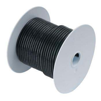 Ancor Tinned Copper Wire - 6 AWG black