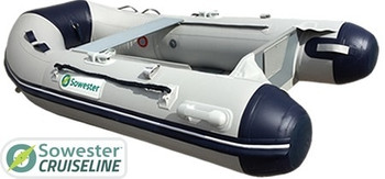Sowester Cruiseline Inflatable Dinghy 3.5m - Inflatable Floor & Keel