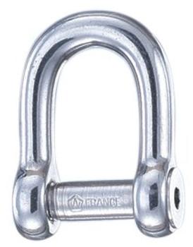 Wichard D-Allen Key Pin Shackle - 6mm