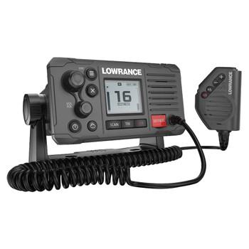 Lowrance Link-6S VHF DSC Marine Radio - Side view