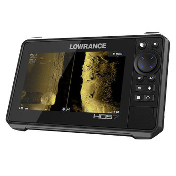Lowrance HDS-7 Live Row Active Imaging 3-in-1 Fishfinder - Side View