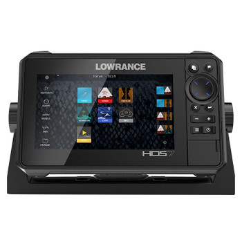 Lowrance HDS-7 Live Row Active Imaging 3-in-1 Fishfinder