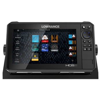 Lowrance HDS-9 Live Row Active Imaging 3-in-1 Fishfinder