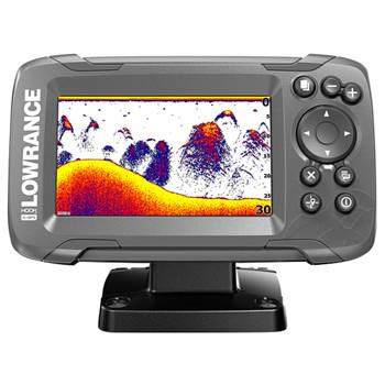 Lowrance HOOK²-4x CE Row GPS Plotter Bullet Skimmer Fishfinder