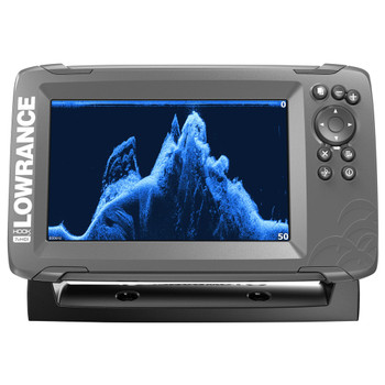 Lowrance HOOK²-7x SplitShot Transducer and GPS Plotter Fishfinder
