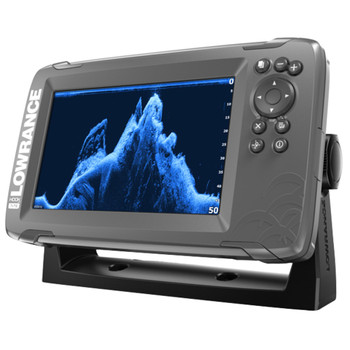 Lowrance HOOK²-7x TripleShot Transducer and GPS Plotter Fishfinder - Side View