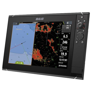 B&G Zeus³-12 Multifunction Display Chartplotter with World Basemap - Side View
