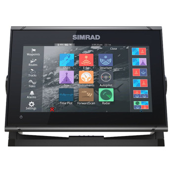 Simrad GO9 XSE Multi-Touch Fishfinder