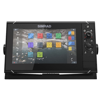 Simrad NSS9 Evo3 Multifunction Display with World Basemap