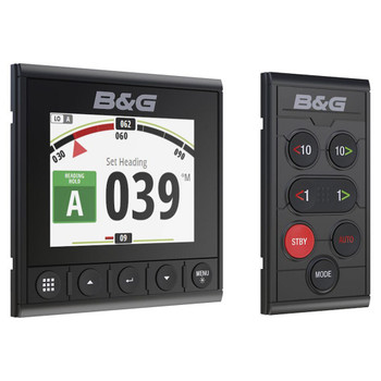 B&G Triton² Digital Display and Autopilot Controller - Side View