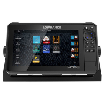 Lowrance HDS­9 Live Row with No Transducer Fishfinder