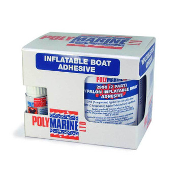 Polymarine Hypalon Inflatable Boat Adhesive 2-Part - 250ml