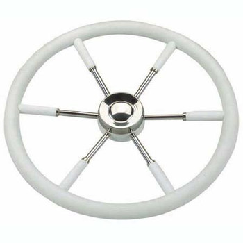 Nautic Steering Wheel V.AB - White
