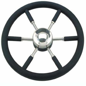 Nautic Steering Wheel V.AB - Black