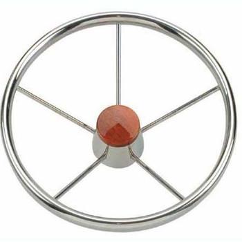 Nautic Steering Wheel V.O - Stainless Steel