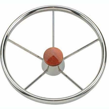 Nautic Steering Wheel V.O - Stainless Steel