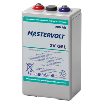 Mastervolt MVSV Gel Battery - 2V/280Ah