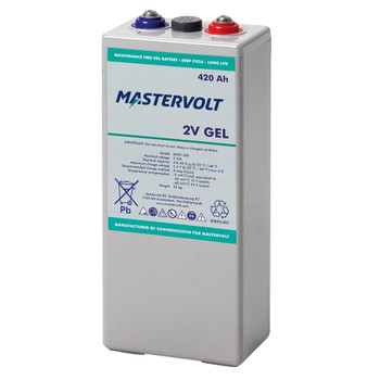 Mastervolt MVSV Gel Battery - 2V/420Ah