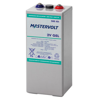 Mastervolt MVSV Gel Battery - 2V/580Ah