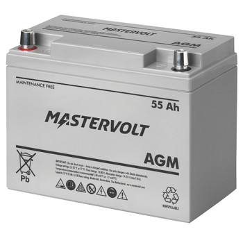 Mastervolt AGM Battery - 12V/55Ah - Group 24