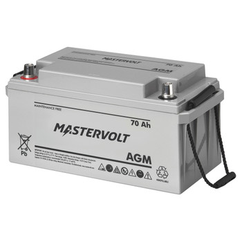 Mastervolt AGM Battery - 12V/70Ah - Group 27
