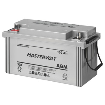 Mastervolt AGM Battery - 12V/130Ah
