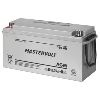 Mastervolt AGM Battery - 12V/160Ah - Group 4D