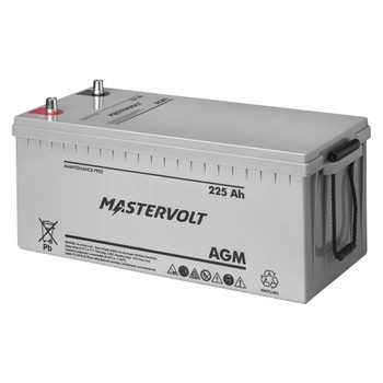 Mastervolt AGM Battery - 12V/225Ah - Group 8D