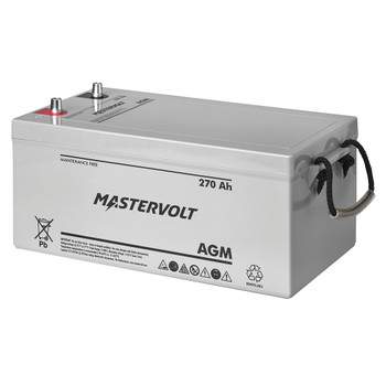 Mastervolt AGM Battery - 12V/270Ah - Group Super 8D