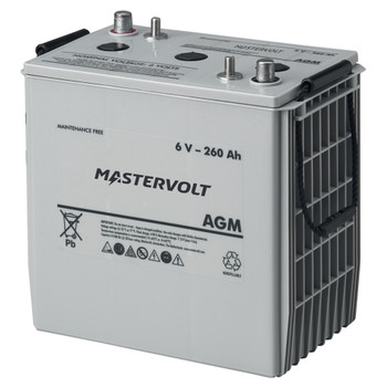 Mastervolt AGM Battery - 6V/260Ah