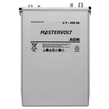 Mastervolt AGM Battery - 6V/400Ah - Straight View