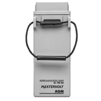 Mastervolt AGM Battery SlimLine - 12V/150Ah - Straight View
