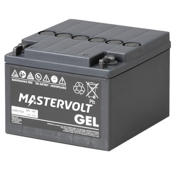 Mastervolt MVG Gel Battery - 12V/25Ah