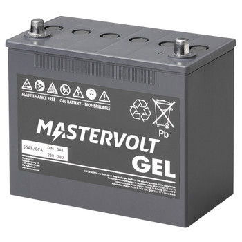 Mastervolt MVG Gel Battery - 12V/55Ah
