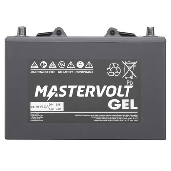 Mastervolt MVG Gel Battery - 12V/85Ah - Straight View