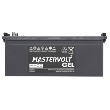 Mastervolt MVG Gel Battery - 12V/120Ah - Straight View