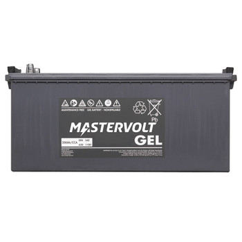 Mastervolt MVG Gel Battery - 12V/200Ah - Straight View