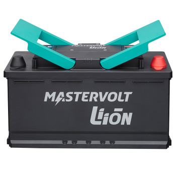 Mastervolt MLI-E Lithium Battery - 12V/1200Wh - Straight View