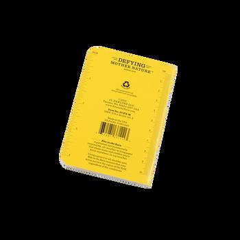 Rite In The Rain 371Fx-M Mini Stapled Notebook 3-Pack - back