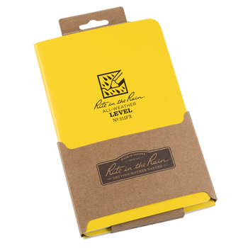Rite In The Rain 311FX Standar Notebook Level 3-Pack - packaged