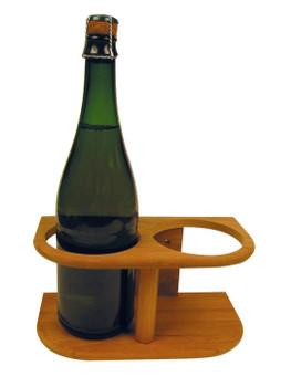 Plastimo 2-Bottle Bamboo Support Rack